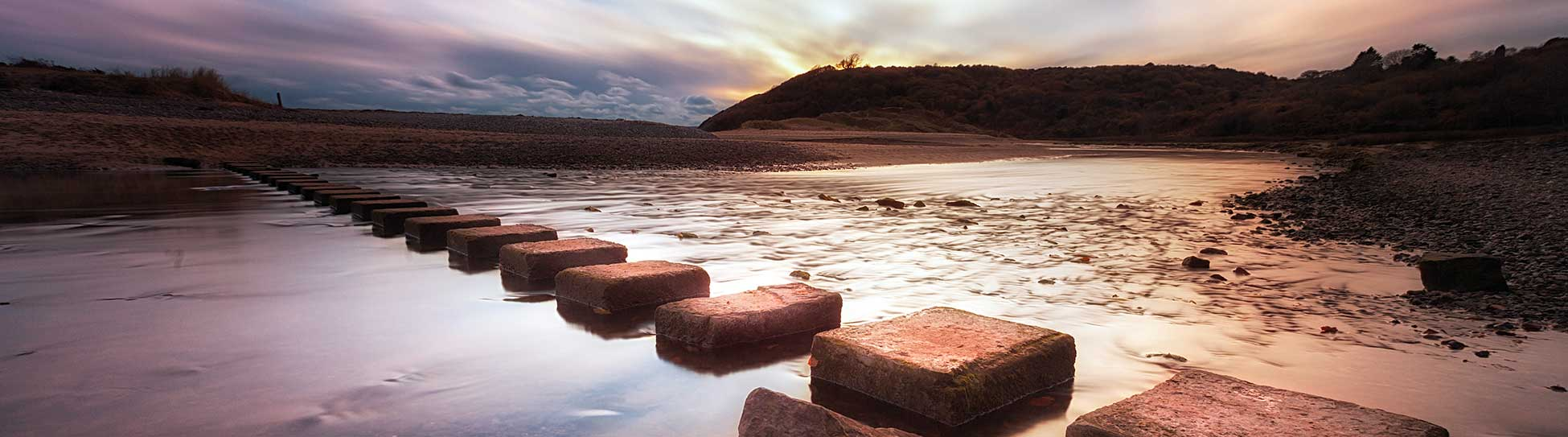 Stepping Stones Across a River - Digital Marketing Group