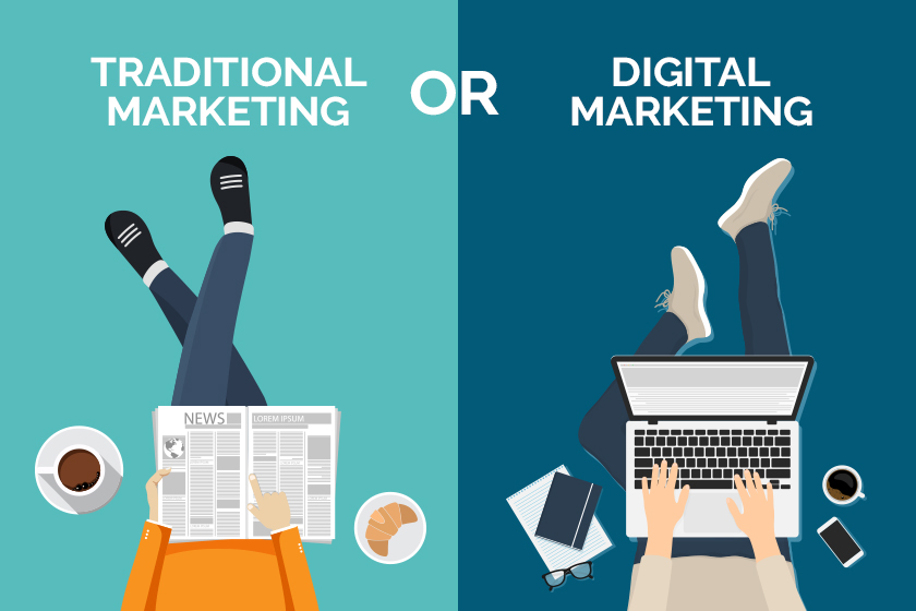 Digital Marketing or Traditional Marketing – Which Should You Be Using?