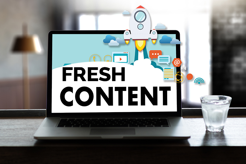 How To Keep Your Content Fresh and On Point